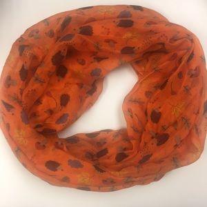 Hedgehog & raincloud infinity scarf